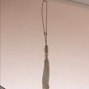 Long tassel necklace from the limited